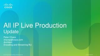 All IP Live Production Update