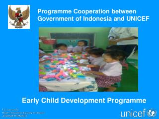 Early Child Development Program me