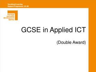 GCSE in Applied ICT