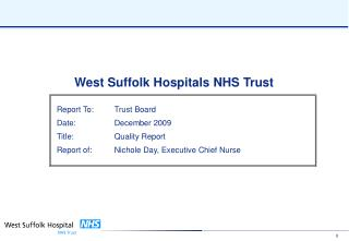 West Suffolk Hospitals NHS Trust