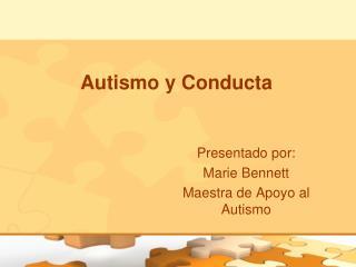 Autismo y Conducta