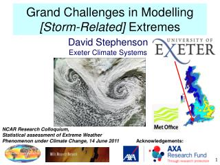 Grand Challenges in Modelling  [Storm-Related]  Extremes