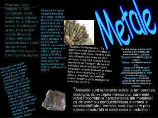 Metale