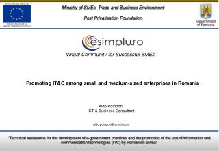 Ministry of SMEs, Trade and Business Environment Post Privatisation Foundation