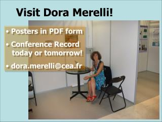 Visit Dora Merelli!
