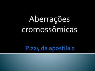 P.224 da apostila 2