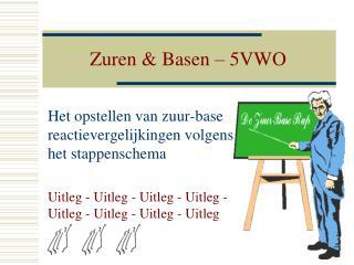 Zuren & Basen – 5VWO