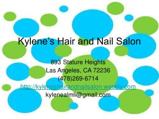 Kylene's Hair and Nail Salon