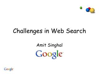 Challenges in Web Search