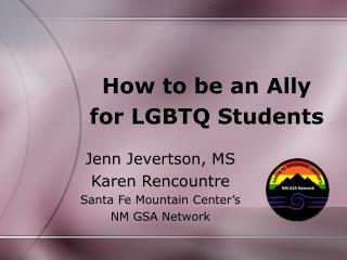 How to be an Ally for LGBTQ Students