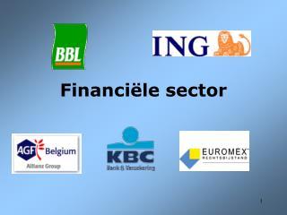 Financiële sector