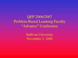 QEP 2006