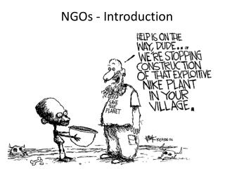 NGOs - Introduction