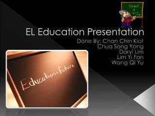 EL Education Presentation