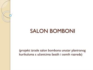 SALON BOMBONI