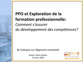 �quipe programme-�valuation