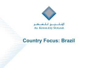 Country Focus: Brazil