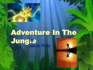 Adventure In The Jungle
