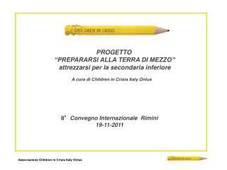 8° Convegno Internazionale  Rimini 19-11-2011