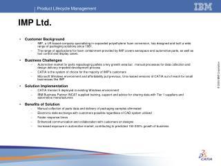 IMP Ltd.