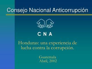 Consejo Nacional Anticorrupci n