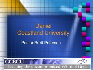 Daniel Coastland University