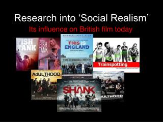 Research into �Social Realism�