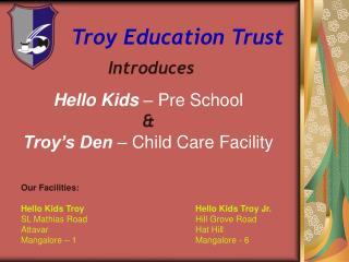 Troy Education Trust