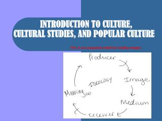 INTRODUCTION TO CULTURE,  CULTURAL STUDIES, AND POPULAR CULTURE