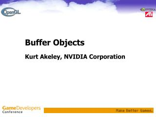 Buffer Objects