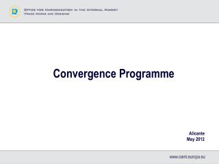 Convergence Programme