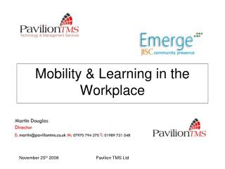 Mobility & Learning in the Workplace