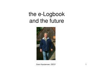 the e-Logbook and the future