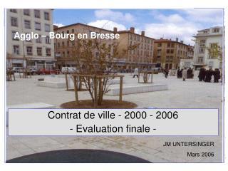 Agglo – Bourg en Bresse