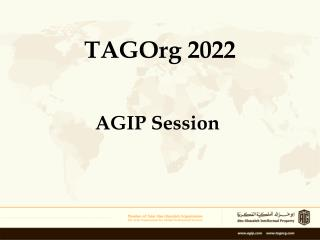 TAGOrg 2022
