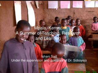 Mpala, Kenya: A Summer of Teaching, Research and Learning