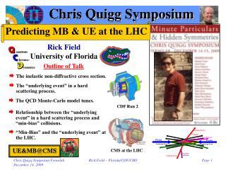 Chris Quigg Symposium