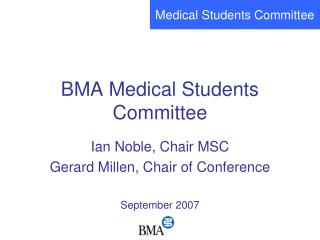 BMA Medical Students Committee