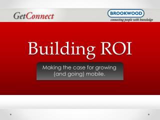 Building ROI