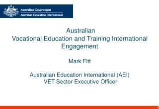 VET International Marketing Brief � Breakfast Consultation