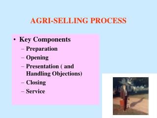 AGRI-SELLING PROCESS