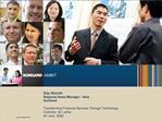 Soju Skariah Regional Sales Manager - Asia SunGard  Transforming Financial Services Through Technology  Colombo, Sri Lan
