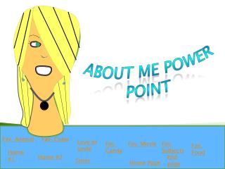 About Me Power Point