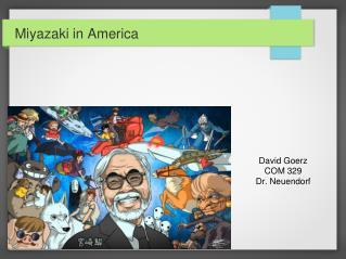 Miyazaki in America