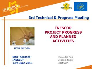 3rd Technical & Progress Meeting