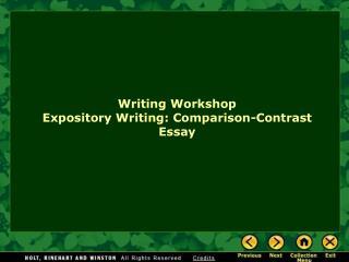 how does expository essay differ from narrative essay