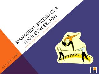 Managing Stress in a High Stress job