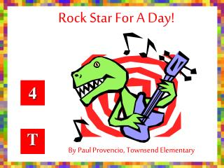 By Paul Provencio, Townsend Elementary