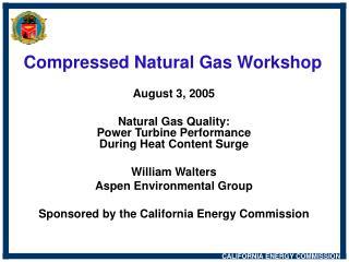 Compressed Natural Gas Workshop