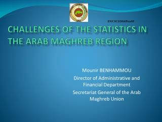 Challenges of the statistics in the Arab Maghreb Region
